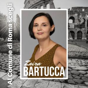 La giornalista Zaira Bartucca candidata al Comune di Roma con la lista Rinascimento Sgarbi, elezioni amministrative 2021